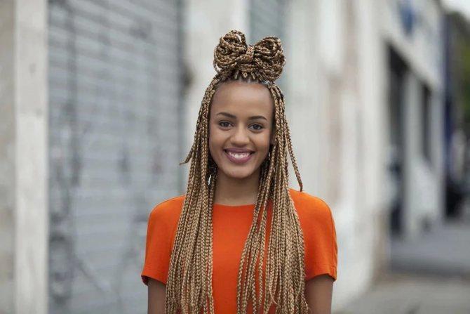 Африканские косички: как плести
