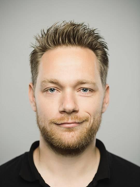 борода для овального лица вариант два