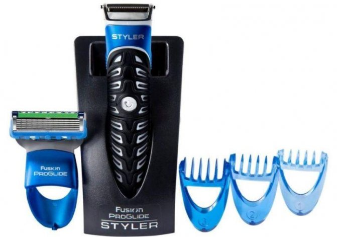 Gillette Fusion ProGlide Styler фото