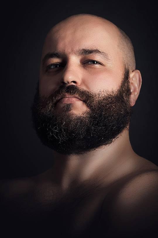 голандская стрижка с бородой