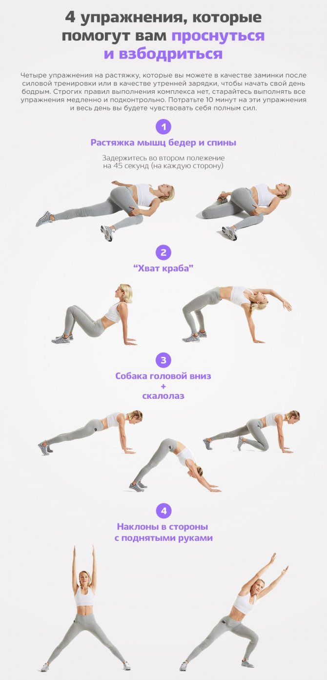 Хорошая утренняя зарядка для женщин и для мужчин. лучший комплекс упражнений для утренней зарядки