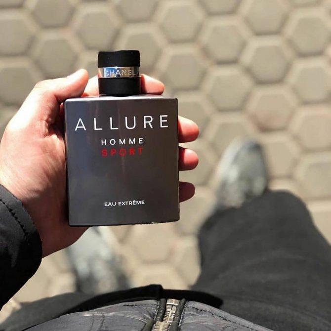 идеальный весенний парфюм Chanel Allure Homme Sport