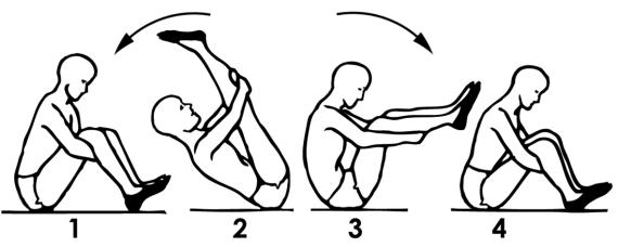 КАЧАЛКА: Упражнение для здоровья внутренних органов