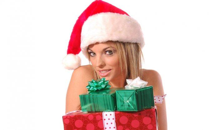 Как придумать подарок на Новый год для девушкии