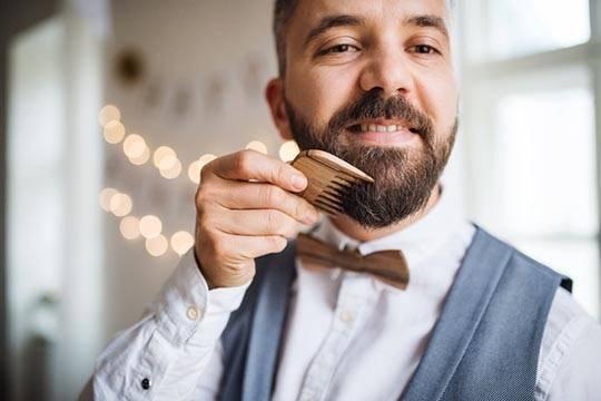 Как расчесывать бороду