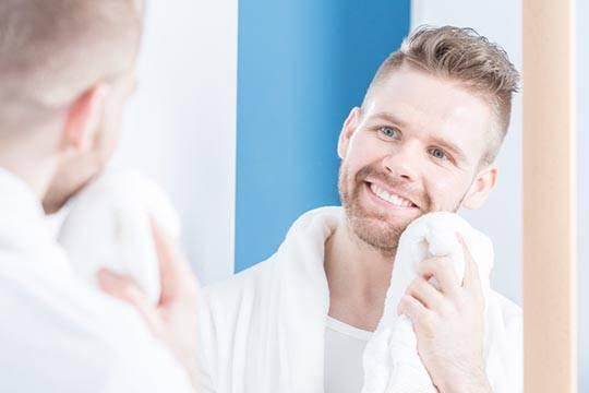 Как сушить бороду
