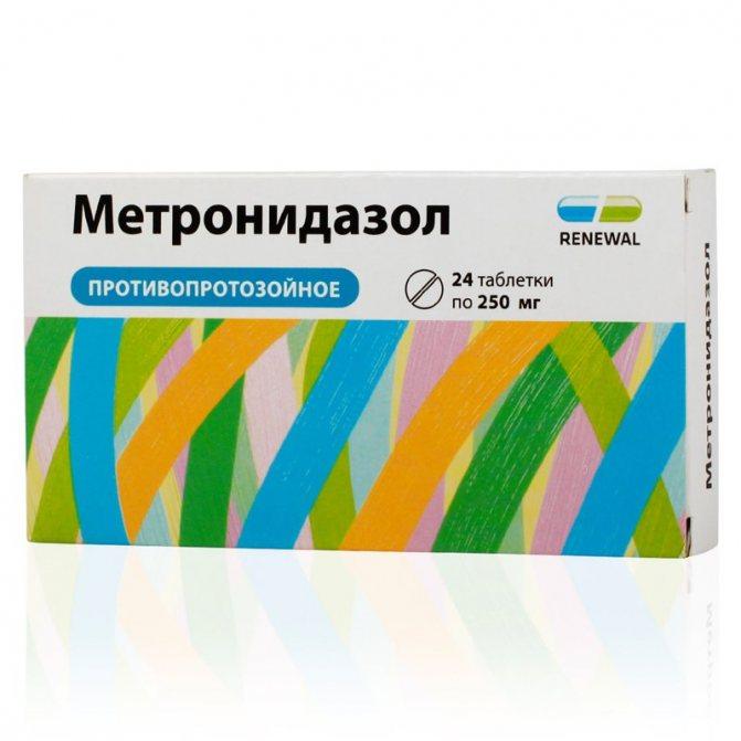 лекарство от трихомонады у мужчин