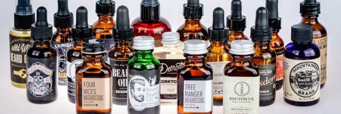 масла для бороды