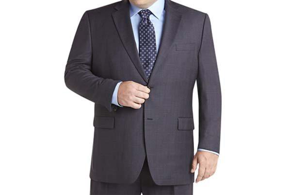 модный костюм 2020 для полных мужчин фото