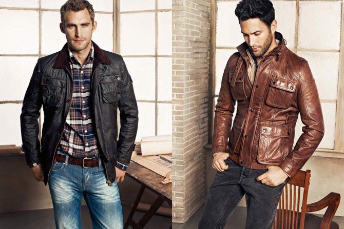 Мужчинам на заметку – правила выбора кожаной куртки