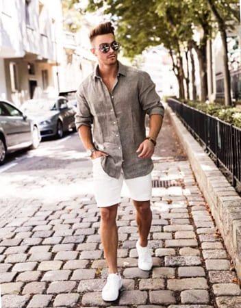 мужские шорты и сорочки фото