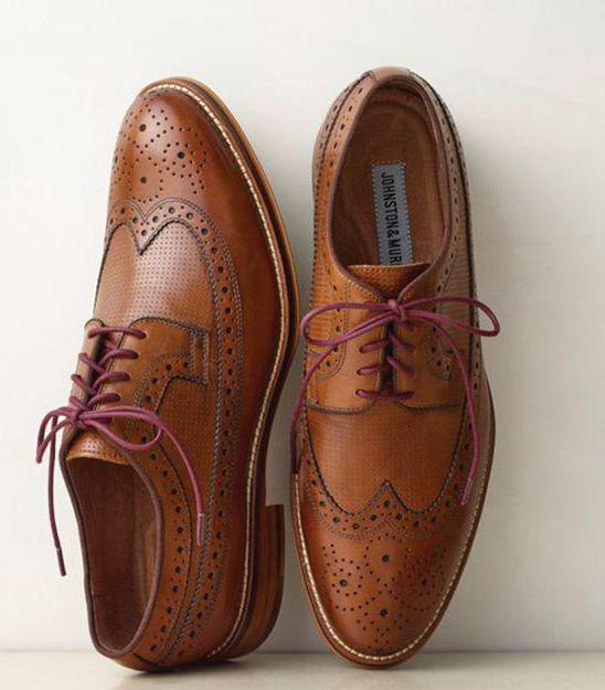 мужские туфли виды и с чем носить