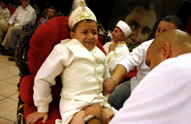обрезание в исламе