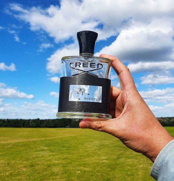 популярные весенние духи для мужчин Creed Aventus