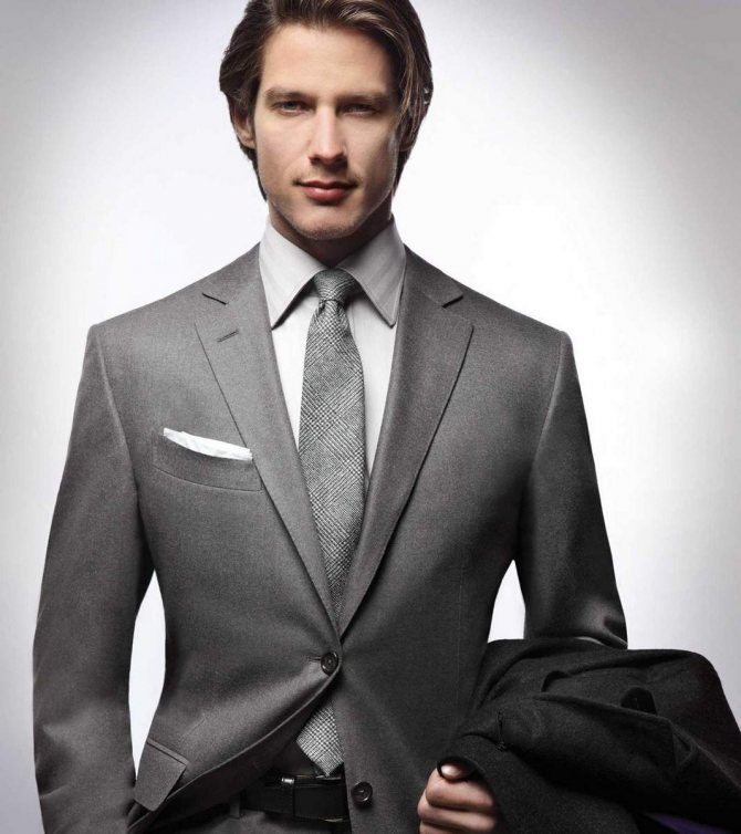 Правила выбора мужского костюма.