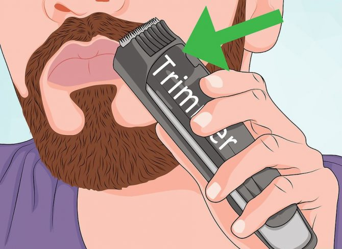 Процесс первого бритья