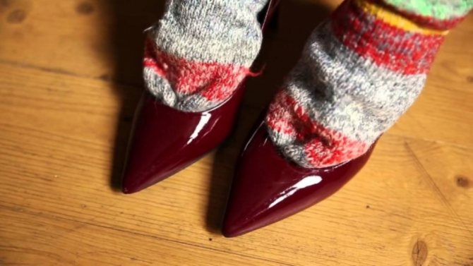 растяжка туфель