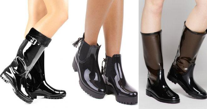 Резиновая обувь осень-зима 2019-2020 мода