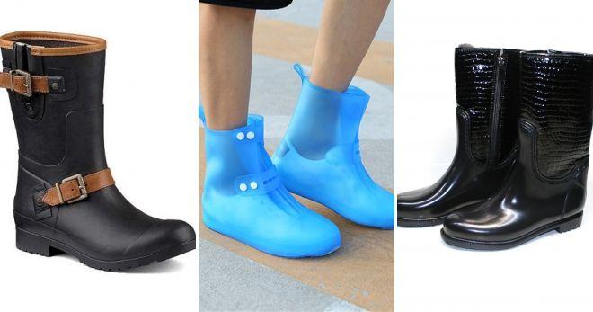 Резиновая обувь осень-зима 2019-2020 варианты