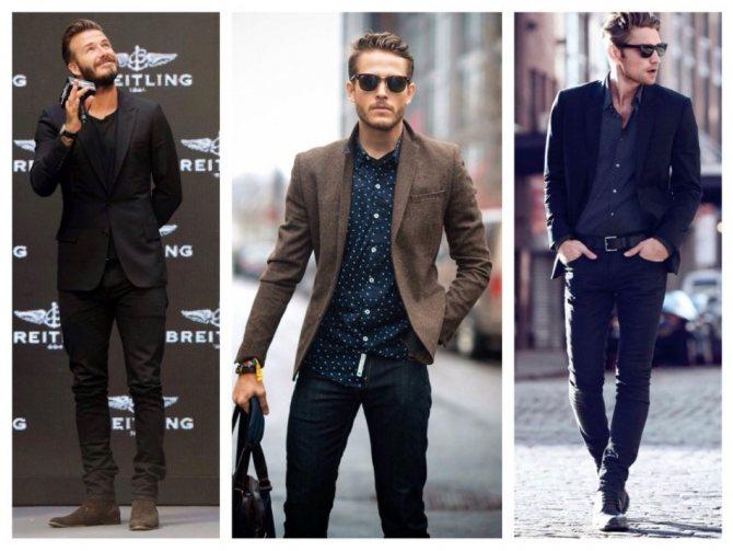 С чем носить черные джинсы мужские, с чем они сочетаются?