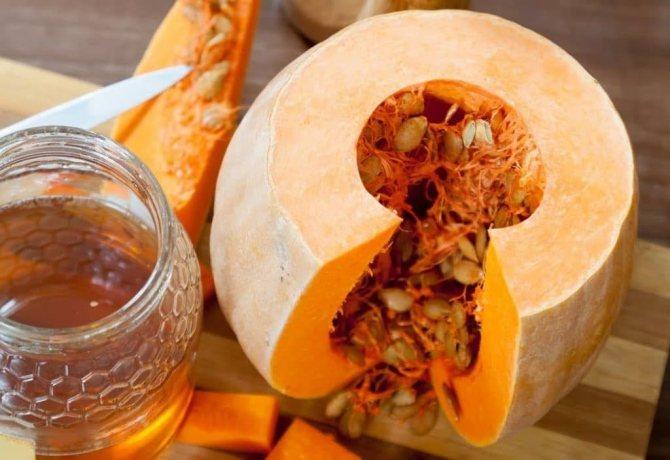 Семена тыквы и мед при простатите