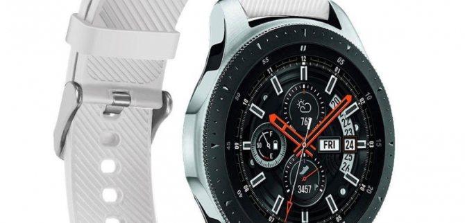 Смарт-часы Samsung Galaxy Watch R800 46MM Silver