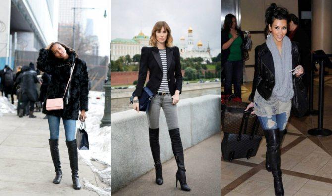 Советы стилистов, какую обувь носить с узкими джинсами