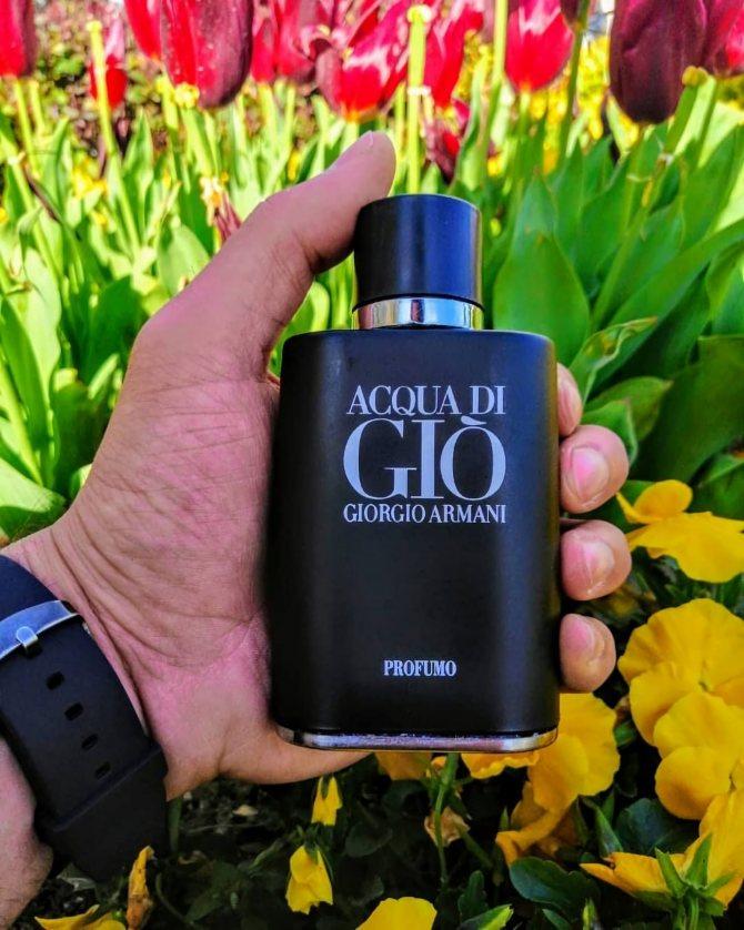 стильный парфюм для мужчин Giorgio Armani Acqua Di Gio Profumo