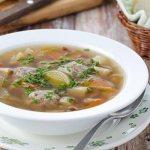 Суп для диеты для мужчин