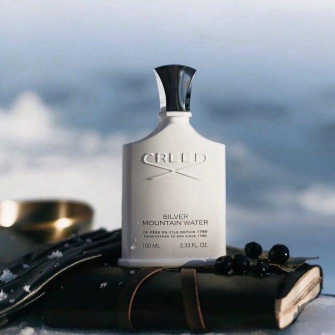 свежие весенние мужские духи Creed Silver Mountain Water