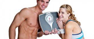 Таблица нормального веса человека по годам и росту, расчет для мужчин