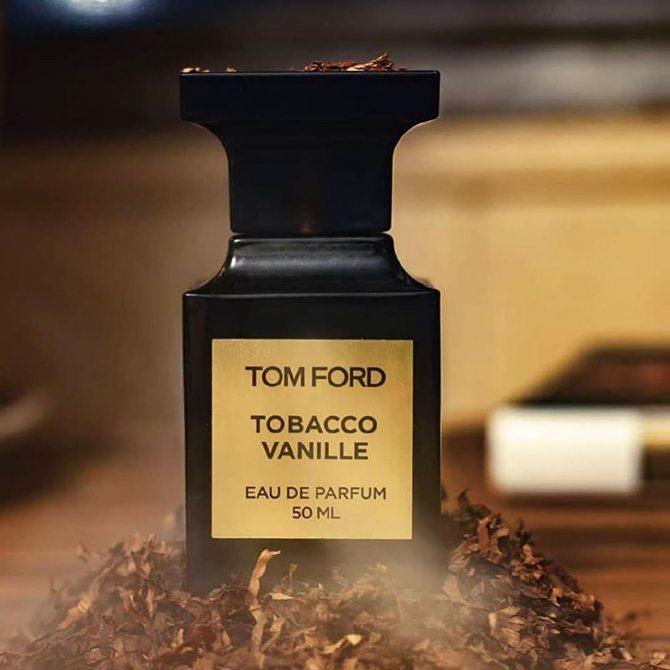теплый весенний аромат для мужчин Tom Ford Tobacco Vanille