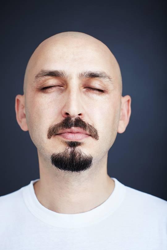 узкая борода