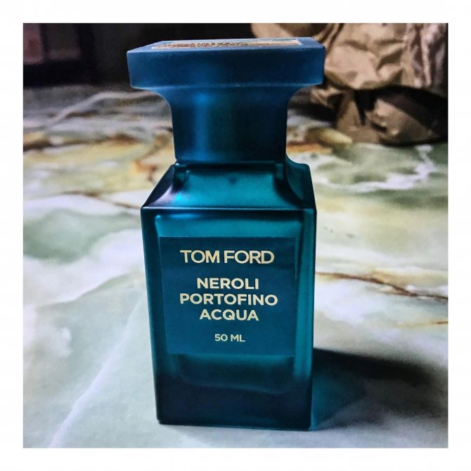 весение мужские духи Tom Ford Neroli Portofino