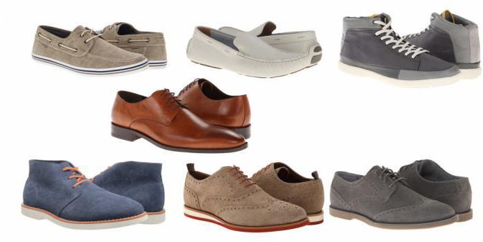 виды мужских туфель с фото