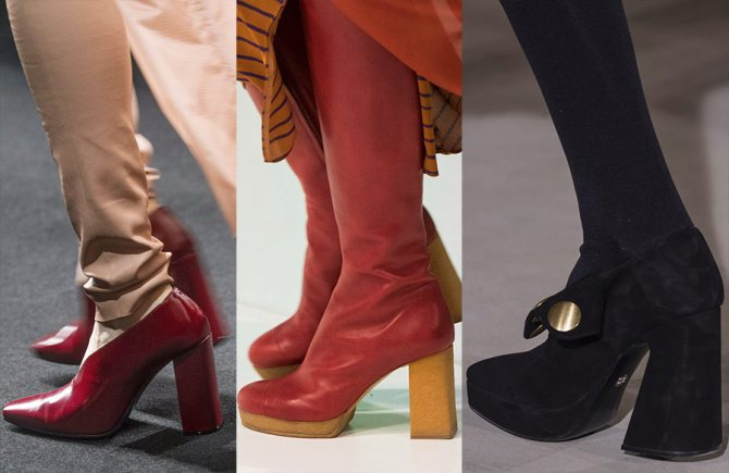 Женская обувь 2018-2019