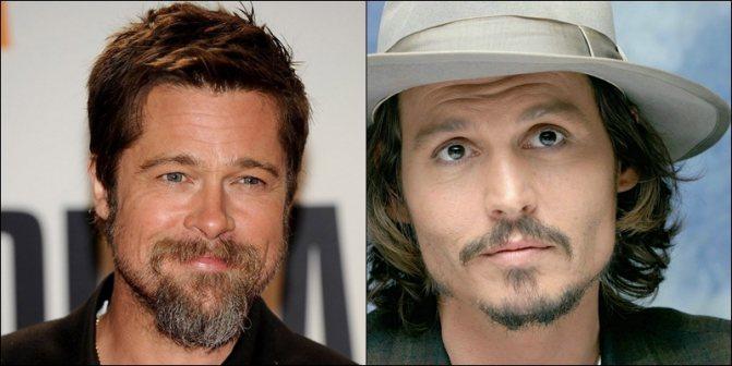 знаменитости с козлиной бородкой